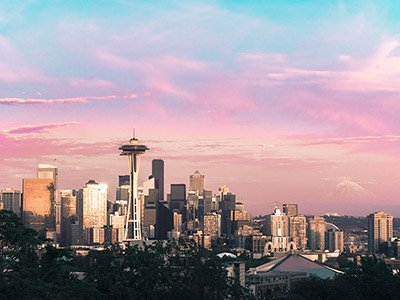 Photo of Seattle skyline (thumbnail)